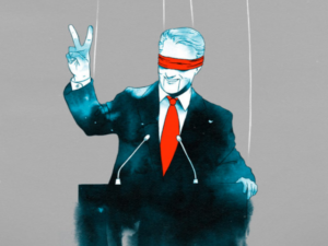 <span style='color:#00000;font-size:36px;'>How Big Business Neutered Politics by Creating the Puppet Politician</span><h3> Big business pull the strings while politicians maintain a veil of legitimacy </h3>