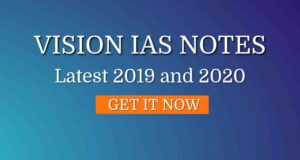 vision ias notes