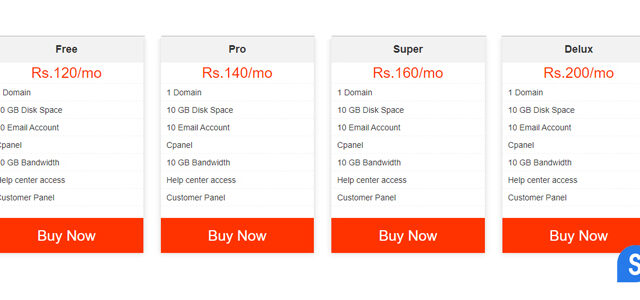bootstrap pricing table template