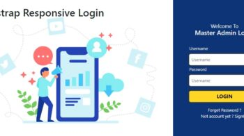 Bootstrap Reponsive Login Templates Free Download