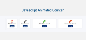 Animated Counter using javascript