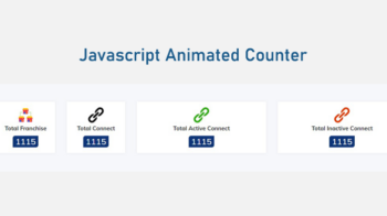 Animated Number Counter Javascript
