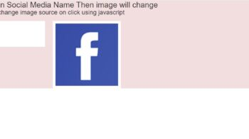 How to change image on button click using Javascript