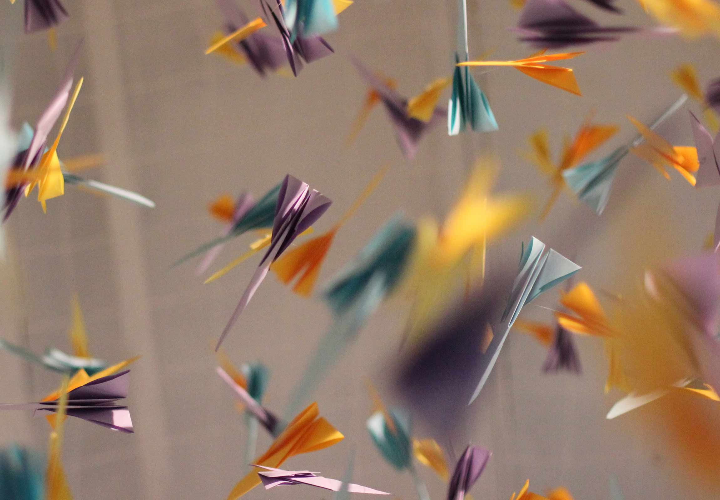 Flying Butterfly Surprise Card