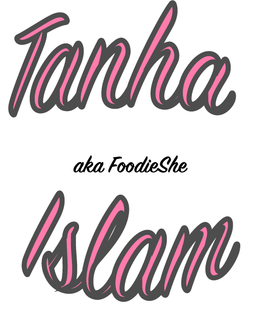 FoodieShe – Tanha Islam Logo