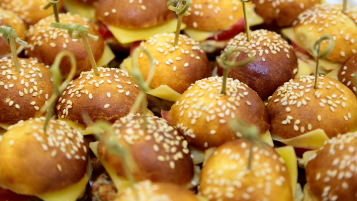 Catering-hier Mini Burger