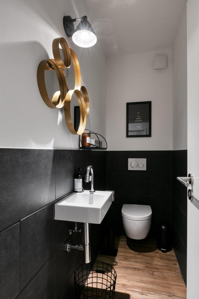 Der Toilettenbereich im DAS ZOLLERN Untere Stadt in Ludwigsburg