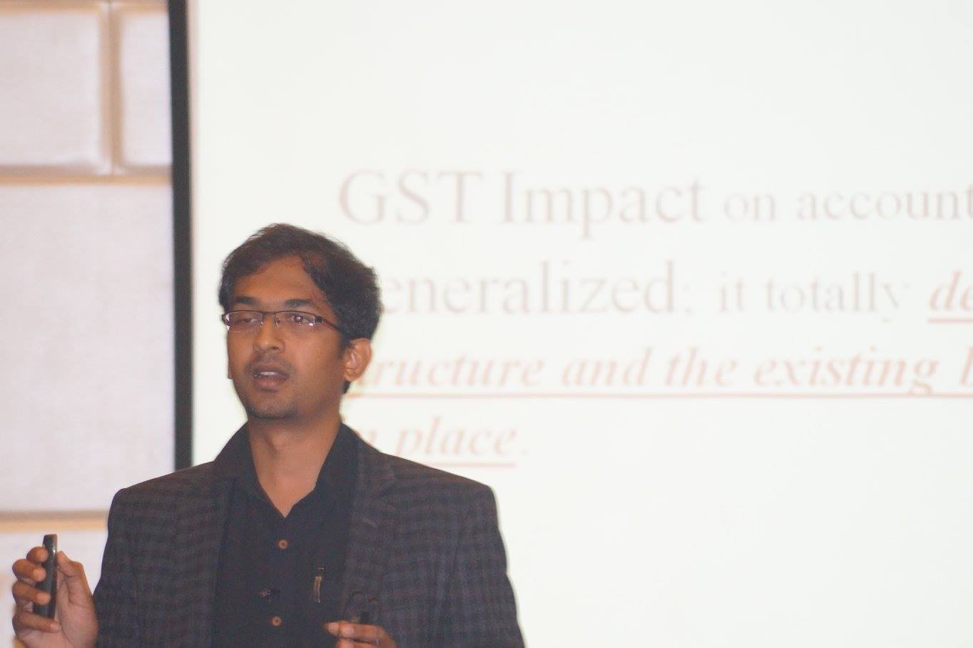 GST Materclass Workshop at Bangalore