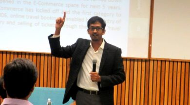 Guest Lecture on Supply Chain Management and ECommerce at PDPU