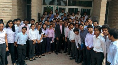 Guest lecture at IIM Kashipur