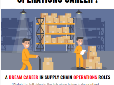 dream career operations role supply chain