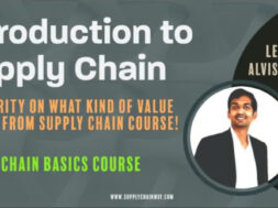 Introduction to supply chain