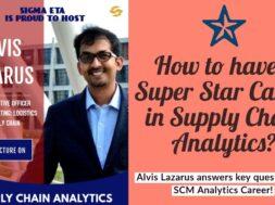 Supply Chain Analytics CareerSIGMA ETA IIM  Tiruchy