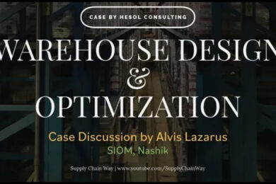 Live Project | Warehouse design and optimization | Case discussion by Alvis Lazarus | SIOM Nashik