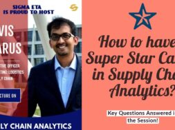 Super Star Career in Supply Chain Analytics
