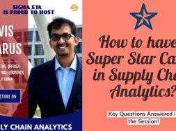 Super Star Career in Supply Chain Analytics