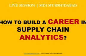 MDI Murshidabad | Supply Chain Analytics Career Live Session by Alvis Lazarus