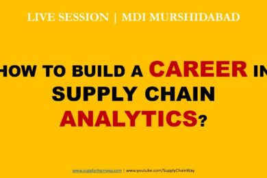 MDI Murshidabad | Supply Chain Analytics Career Live Session by Alvis Lazarus