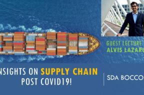 Covid19 actually surfaced a lot of hidden issues in Supply chain