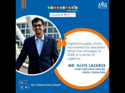 Digital Supply Chain, the new Normal in VUCA World | IMI New Delhi