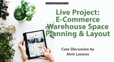 Live Project: E-Commerce Warehouse Space Planning & Layout Design | Be a SCM Consultant and solve!