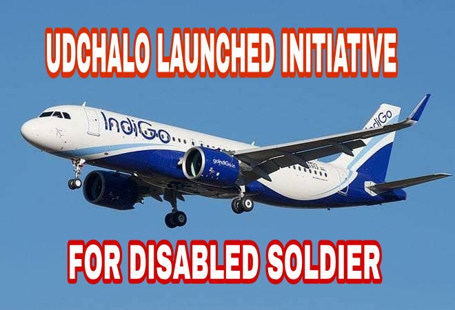 Udchalo initiative for disable soldier