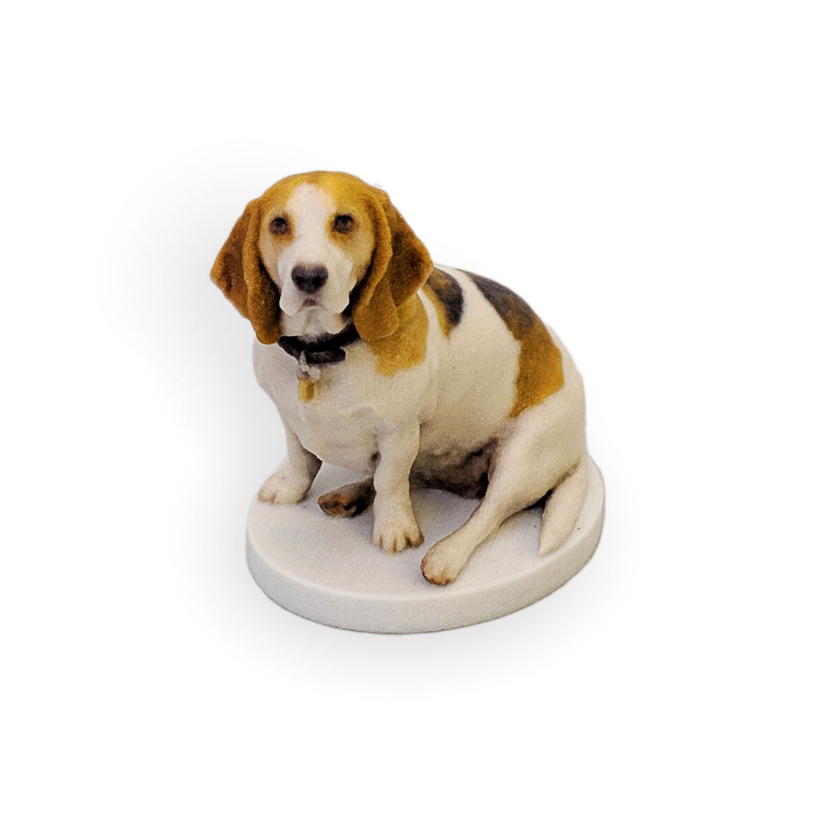 my3Dtwin, 3D Printed Figurine of a Dog