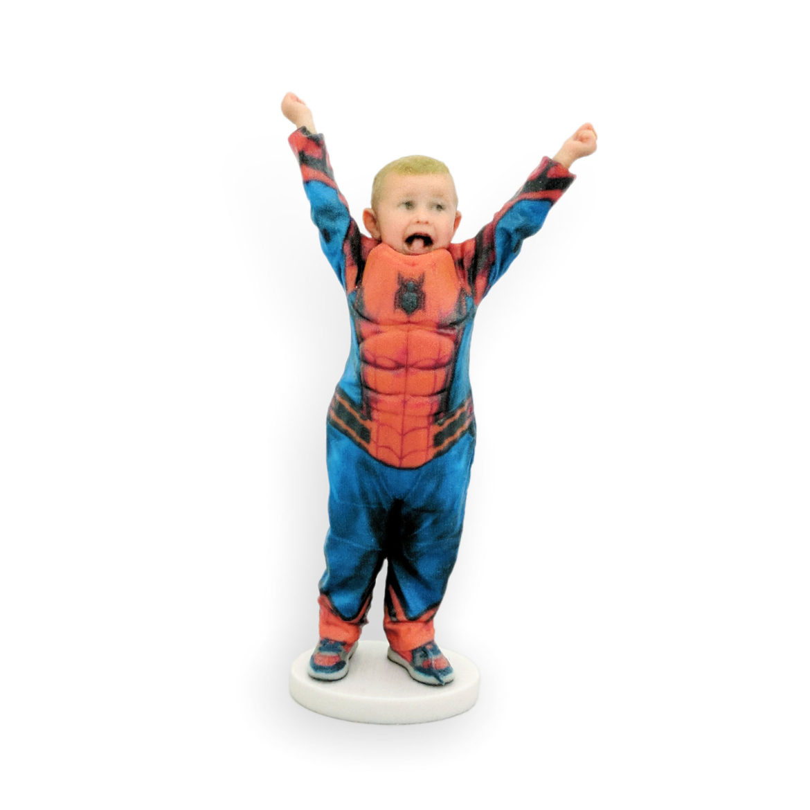 my3Dtwin, Personalised Custom Figurine of a SpiderMan