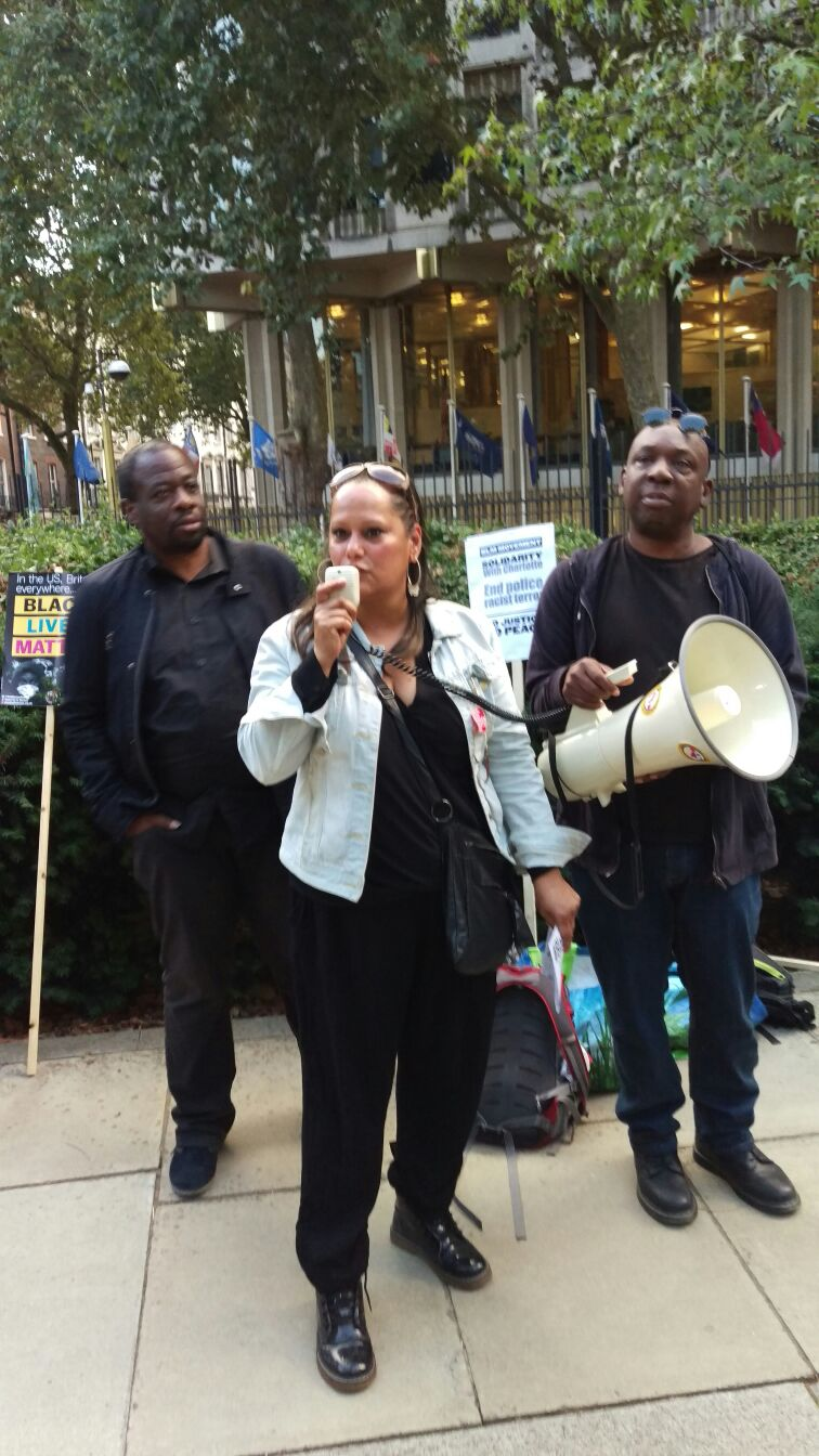 London protest demands release of Charlotte video, justice for Sean Rigg