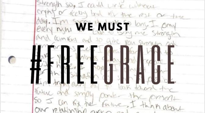 Free 15-year-old black girl Grace – sent to jail for not doing her homework
