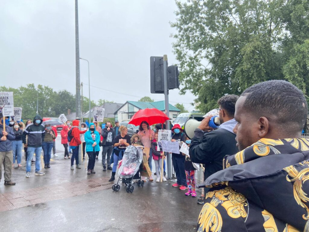 cardiff blm protest