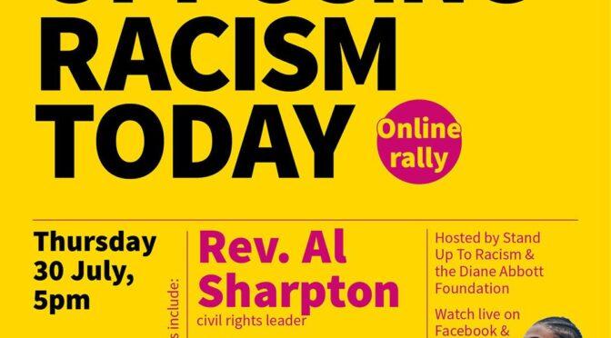 al sharpton diane abbott online meeting