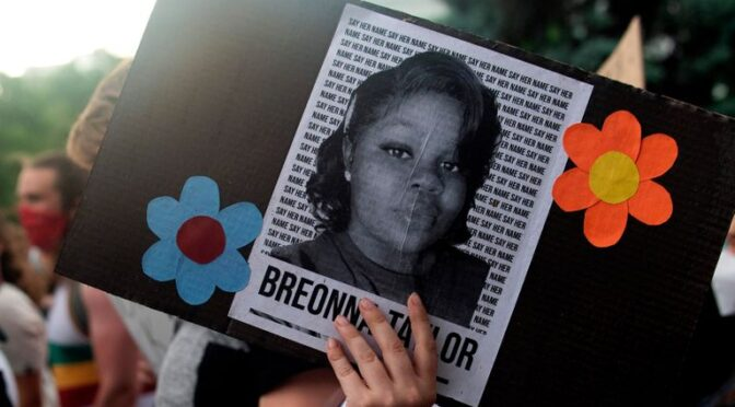 breonna taylor killed by lousiville police