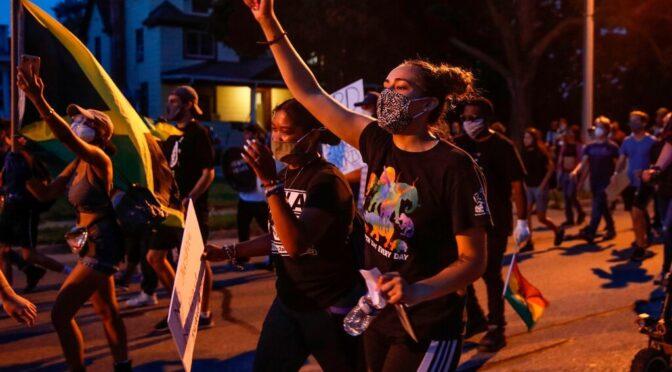Vigilante guns down Jacob Blake protesters, Trump sides with racist cops