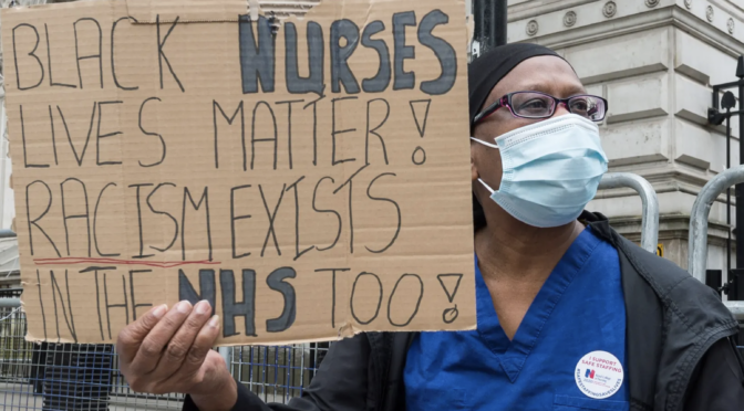Black Nurses Matter – call to action to protect our lives – 25 November 2020