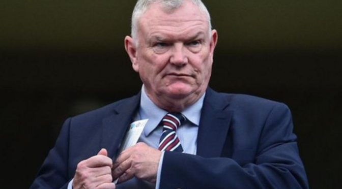 Greg Clarke's racism shows British football is rotting from the head