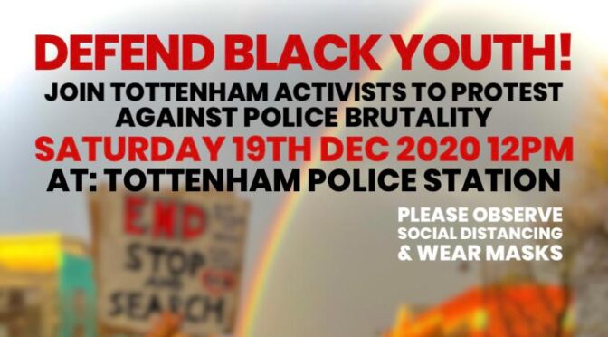 Tottenham police backtrack – admit boy punched, no mention of headlock