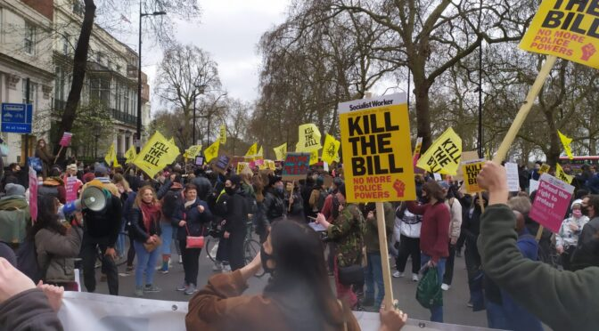 Kill the bill protests this May Day – urgent support needed to defend rights