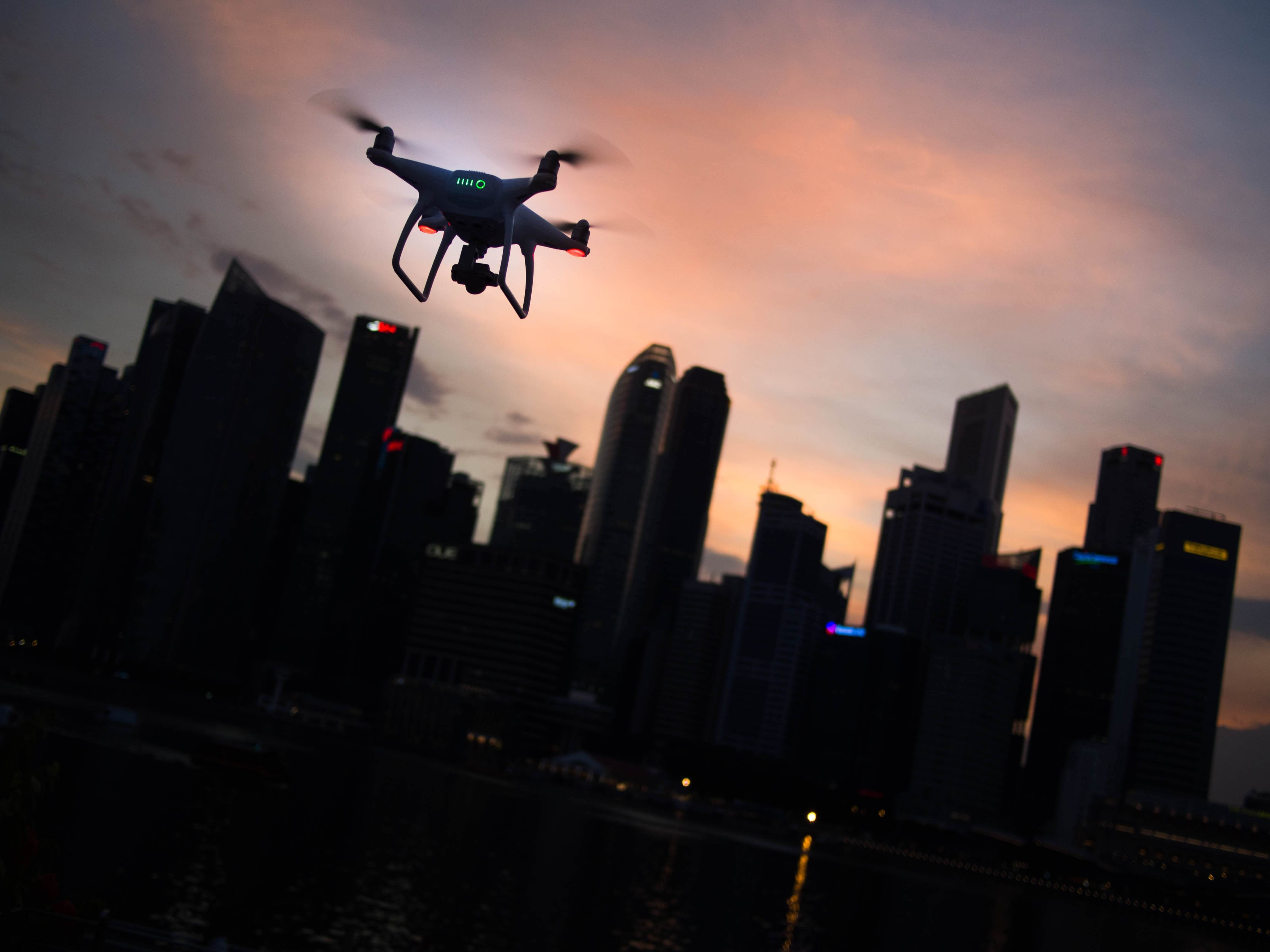 drones construction industry