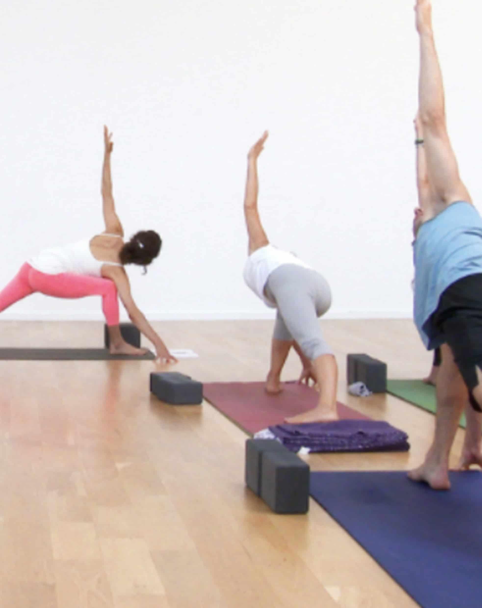 corporate yoga flow