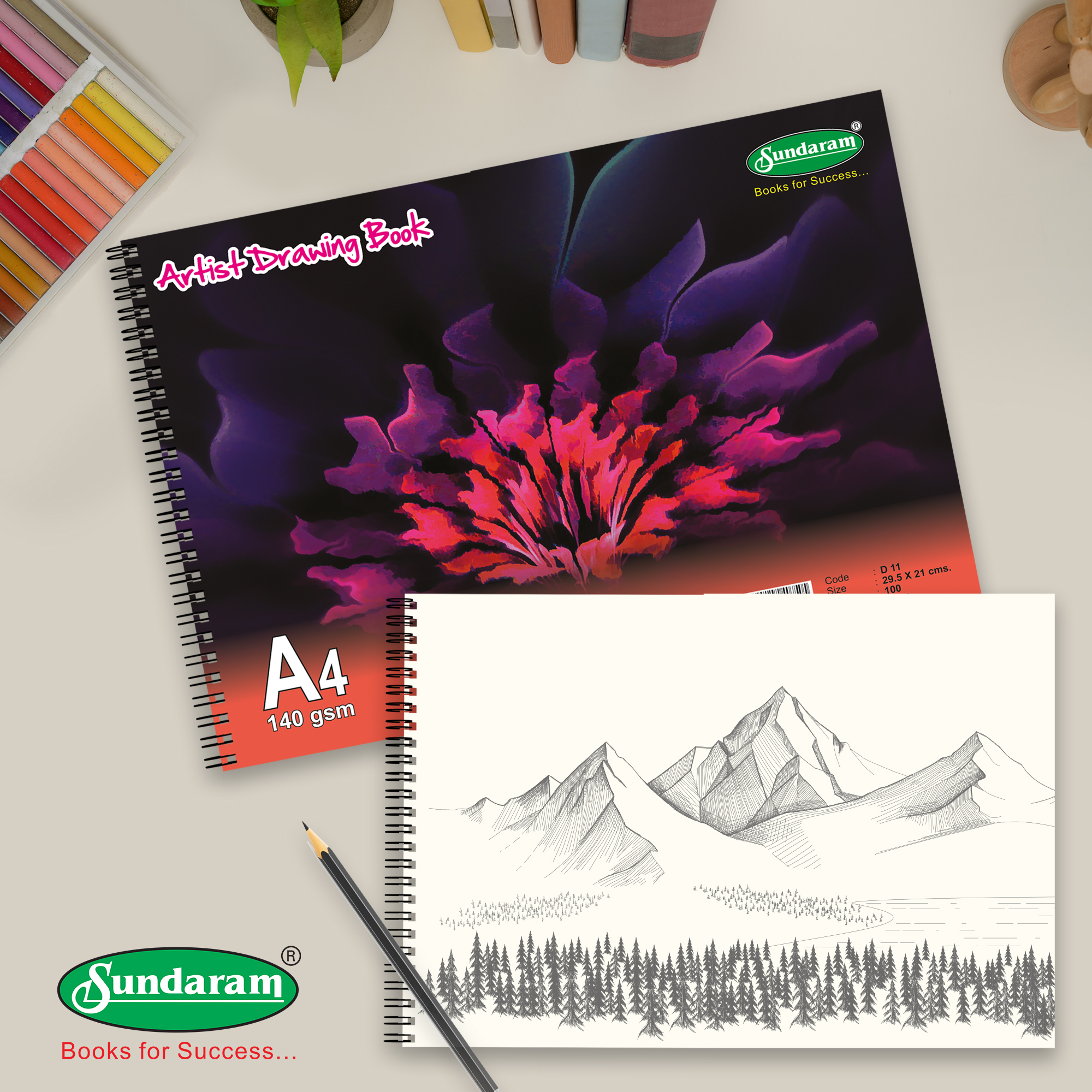 What to look for in Sundaram Drawing Books!