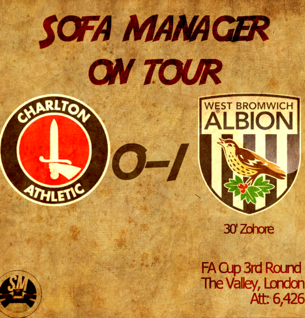 Sofa Manager On Tour: Charlton vs West Brom