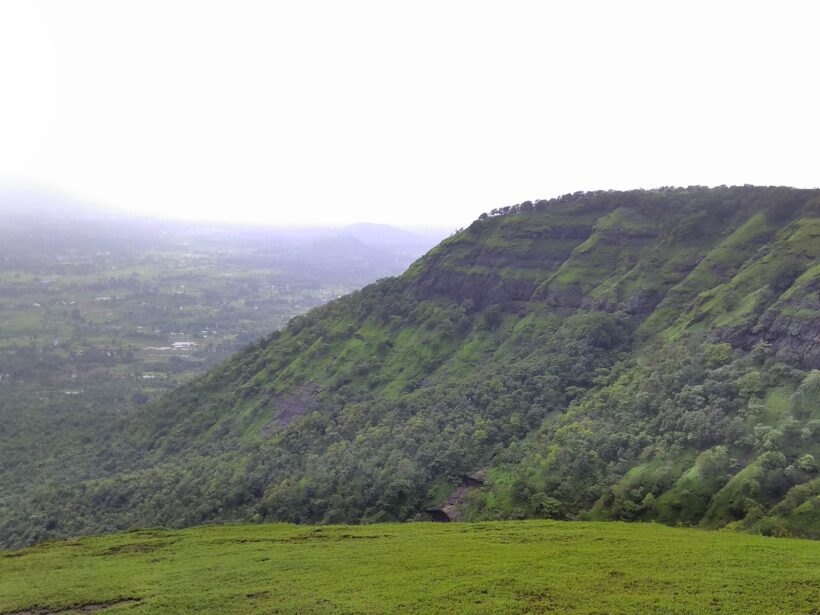 View from Prabalmachi - Treks near Mumbai & Pune