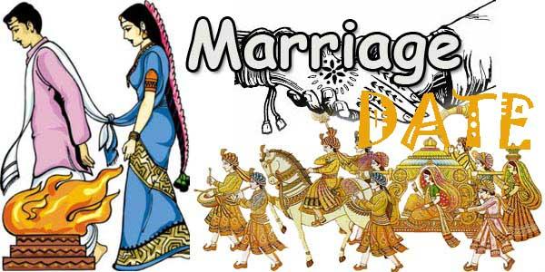 auspicious marriage date