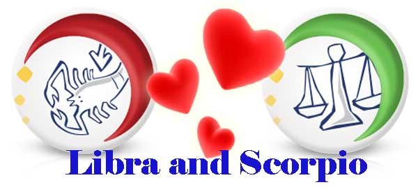 Libra and Scorpio