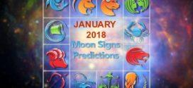 Moon Sign Horoscope Predictions January 2018