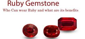 Who can wear Ruby Gemstone
