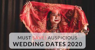 Auspicious Marriage dates