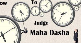 Mahadasha in Vedic Astrology