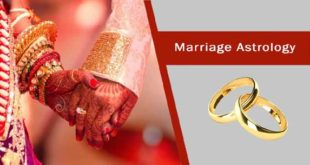 Marriage astrology
